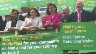 Plaid Cymru campaign launch