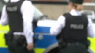 The 48-year-old is being held on suspicion of possession of Class B drugs, and being concerned in the supply of Class A drugs
