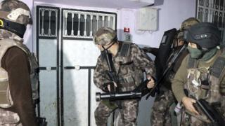 Aparat keamanan Turki