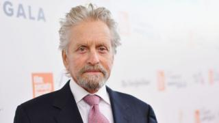 Michael Douglas pictured in 2017