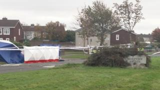 The shooting happened at Moatview Avenue in Coolock