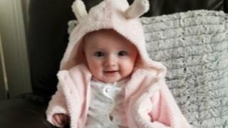 Millie Wyn Ginniver was six months old