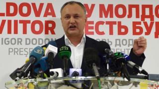 Ứng viên gốc cộng sản và thân Kremlin, Igor Dodon đã thắng cử tại Moldova