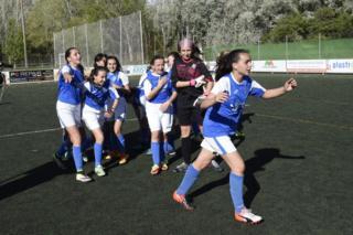Grupo de jugadoras del AEM Lleida
