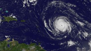 This image obtained from the NASA's GOES Project shows Hurricane Irma on 4 September