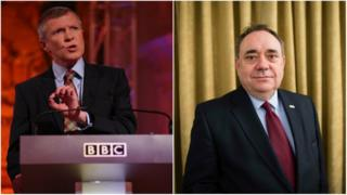 Willie Rennie and Alex Salmond