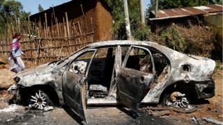 Последствия беспорядков в Эфиопии