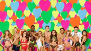 This is a photo of the Love Island cast.