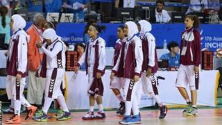 الفريق القطري لكرة السلة للإناث