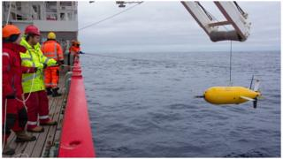 Boaty undertook three dives with the longest conducted over three days