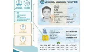 Электрондук паспорт