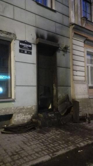 Дверь в штаб Навального