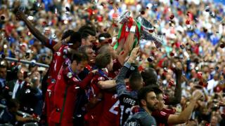 Euro 2016 winners Portugal