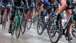 Cycling race in Spain, file pic