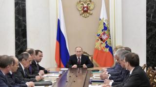Заседание Совета безопасности РФ 31 марта 2017 года