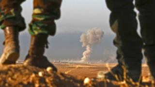 Başika'da IŞİD'e yönelik operasyonlar.