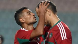 Morocco striker Abdessalam Ben Jelloun
