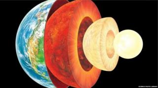 This study suggests silicon exists in the Earth's inner core with iron and nickel