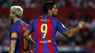 Messi na Suarez