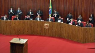 Sessão plenária do TSE
