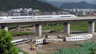 Treni za mwendo kasi zaidi kuzinduliwa nchini China