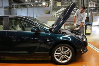 Opel Insignia production line, Ruesselsheim, 22 Aug 13