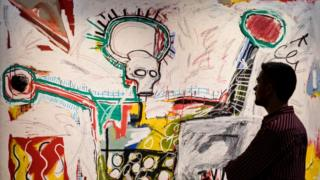 9. Basquiat: Boom For Real Installation view