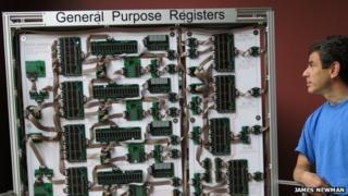 mega processor and James Newman