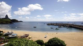 Fernando de Noronha island, Brazil. File photo
