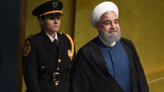 آقای روحانی در نطق خود به اظهارات رئیس جمهور آمریکا درباره ایران پاسخ داده است