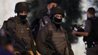 Израильская полиция