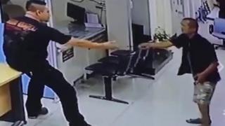 Hành động cao thượng của cảnh sát Thái