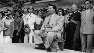Ngo Dinh Diem, the first president of Republic of Vietnam