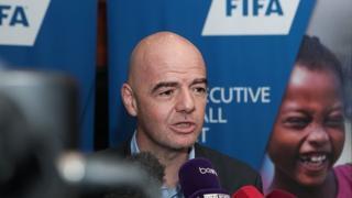 """Infantino avait déclaré que, """"plus de pays pourront rêver"""", si le Mondial passe à 48 équipes"""