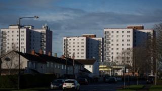Council block in Bristol
