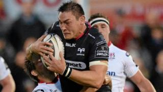 Ex-Wales back-row Gareth Delve was unable to inspire Opreys in Ulster on his debut