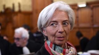 Mkuu wa IMF Christine Lagarde