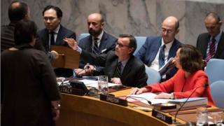 UN security council dey vote on top Somalia