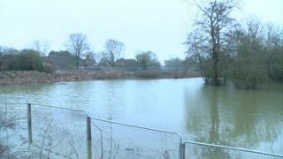 Flooding in Fulford