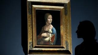 'Dama com Arminho', de Leonardo da Vinci