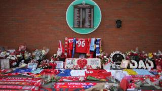 Liverpool memorial dedicated to Hillsborough victims