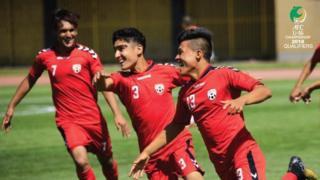 تیم زیر ۱۶ سال افغانستان در حالی به رقابتهای آسیایی صعود کرده است که تیم ملی بزرگسالان افغانستان در حال حاضر از شانس بسیار کمی برای صعود به جام ملتهای آسیا برخوردار است