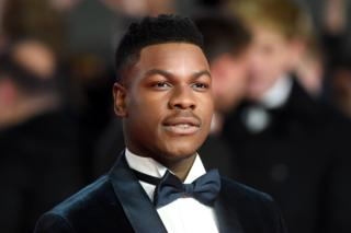 John Boyega on the red carpet