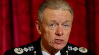 Metropolitan Police chief Sir Bernard Hogan-Howe