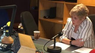 Former Labour Party NI Executive Committee Secretary Kathryn Johnston speaking on Good Morning Ulster