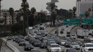 Traffic in Los Angeles