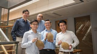 The durian-loving team of scientists