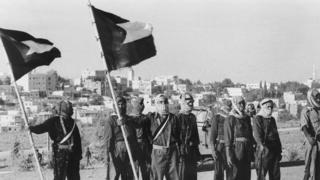El Fetih savaşçıları 1970 Ağustos ayında Ürdün'ün başkenti Amman'da