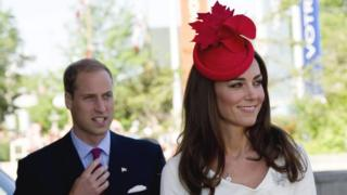 Prince William and Kate on a visit to Quebec