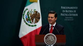 Mr Pena Nieto wuxuu sheegay in amniga iyo xuquuqda shacabka Mexico ee Mareykanka ku nool uu ahmiyadda koobaad siinaayo